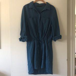 Zara Button Down Dress